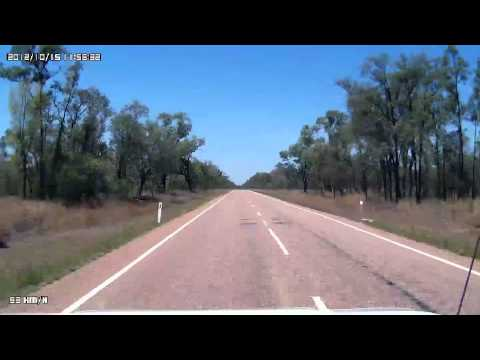 Video 344 - Capricorn Highway - Lochnagar Road T/O to Jericho