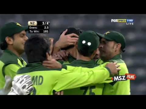New Zealand fall of wickets 3rd t20 2011