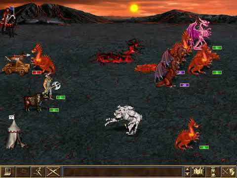 Heroes of Might & Magic III - In The Wake of Gods: Dragon Lord.