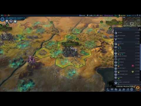 Sid Meier's Civilization Beyond Earth Rising Tide Apollo setting Croyal Beerman Part 6