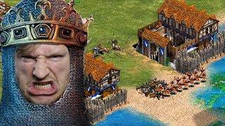 Castle Rush Main! - 2v1 [1800 Elo] | Age of Empires 2 [#19]