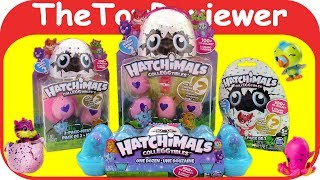 Hatchimals CollEGGtibles Season 2 Blind Bags Eggs Golden Lynx Unboxing Toy Review by TheToyReviewer
