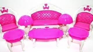 Мебель для кукол - Посылка из Китая - Furniture for dolls(Магазин тут ..., 2015-11-24T05:30:00.000Z)