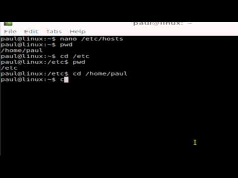 How to go to home directory in Linux