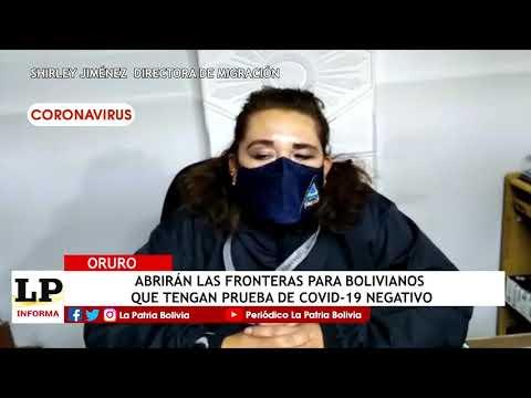 Abrirán las fronteras para bolivianos q...
