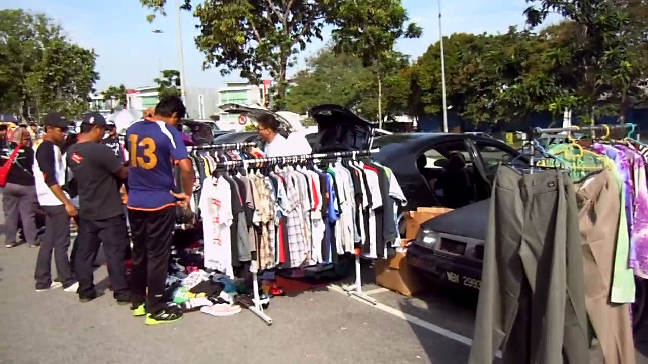 how to sell at a car boot sale