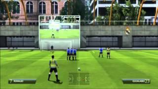 tutoriel coup franc fifa 14 PS3