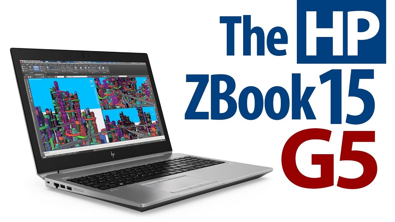 NEW GENERATION! The HP ZBook 15 G5 Mobile Workstation - Bestselling Power