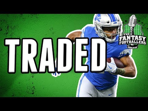 Golden Tate Traded to the Eagles! | Fantasy Football Impact