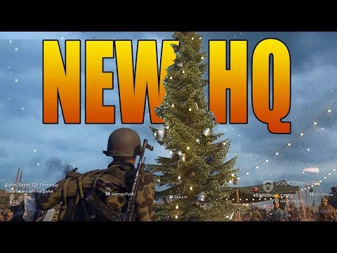 *NEW* Winter Headquarters Tour (Call of Duty WW2)