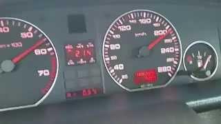 Разгон Audi 100 c4 2.3E AAR 0-210 груженый на 17 тапках!(Ехал даже против ветра, тяговитее стала в сравнении с предыдущим(родным) блоком зажигания!, 2015-03-07T19:20:13.000Z)