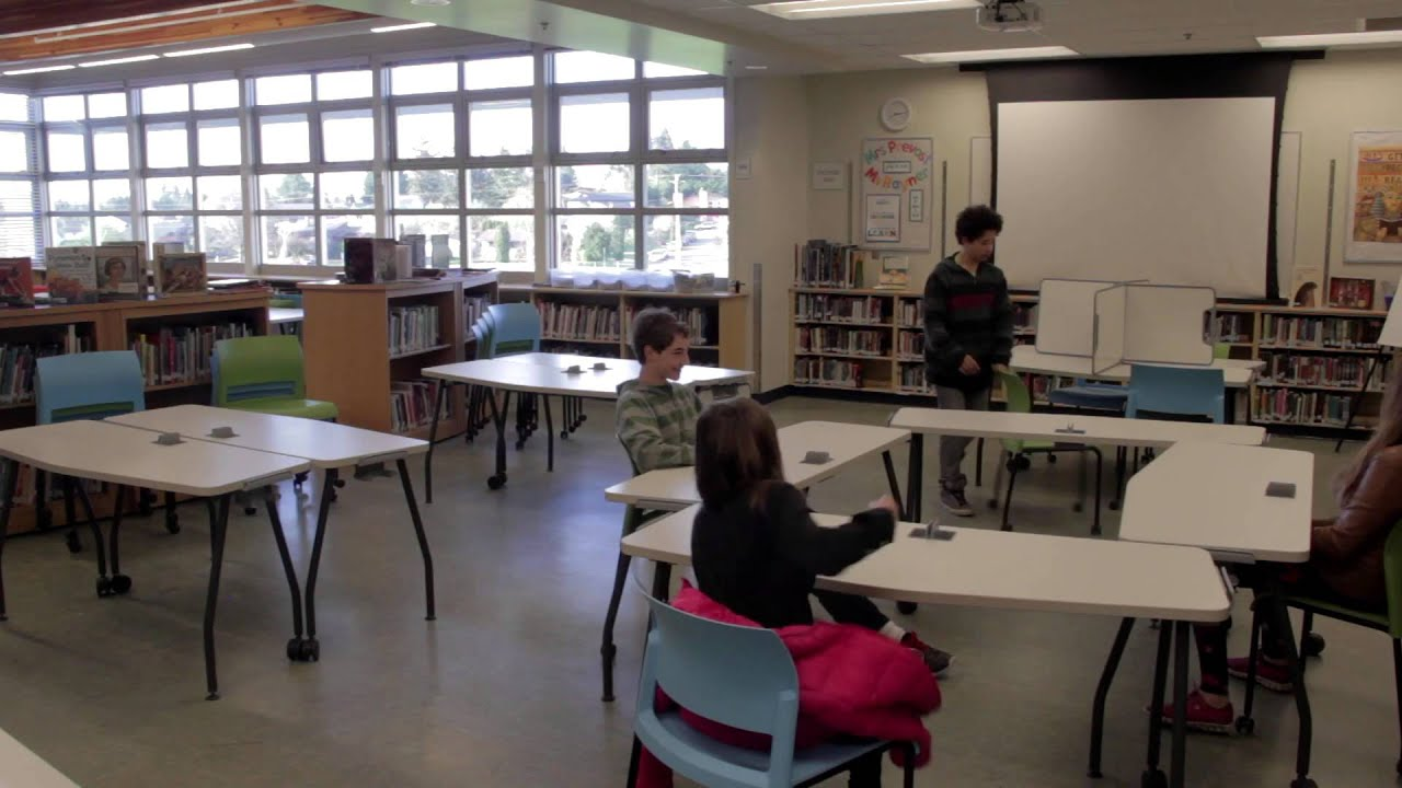 Innovative Elementary Classroom Ideas ~ Library to learning commons saanich school district no