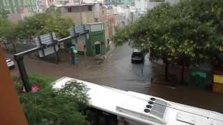 Floods in Tenerife Canary Islands Lluvias  en Santa Cruz de Tenerife 19 octubre 2014