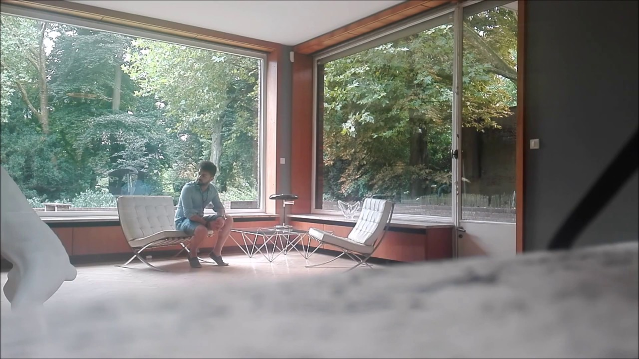 Ludwig Mies Van Der Rohe House Long House Esters Chair Youtube