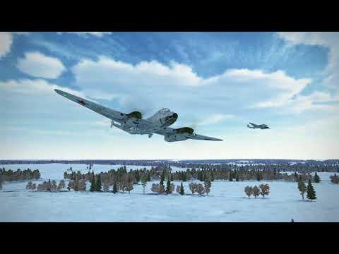 Pe-2 Airfield Trolling on Wings of Liberty (IL-2 Battle of Stalingrad)