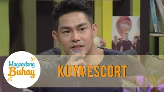 Magandang Buhay: Kuya Escort Ion receives messages from Vice Ganda and Ate Girl