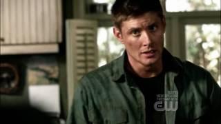 Supernatural 4x01 Lazarus Rising 04 Dean Visits Bobby HD