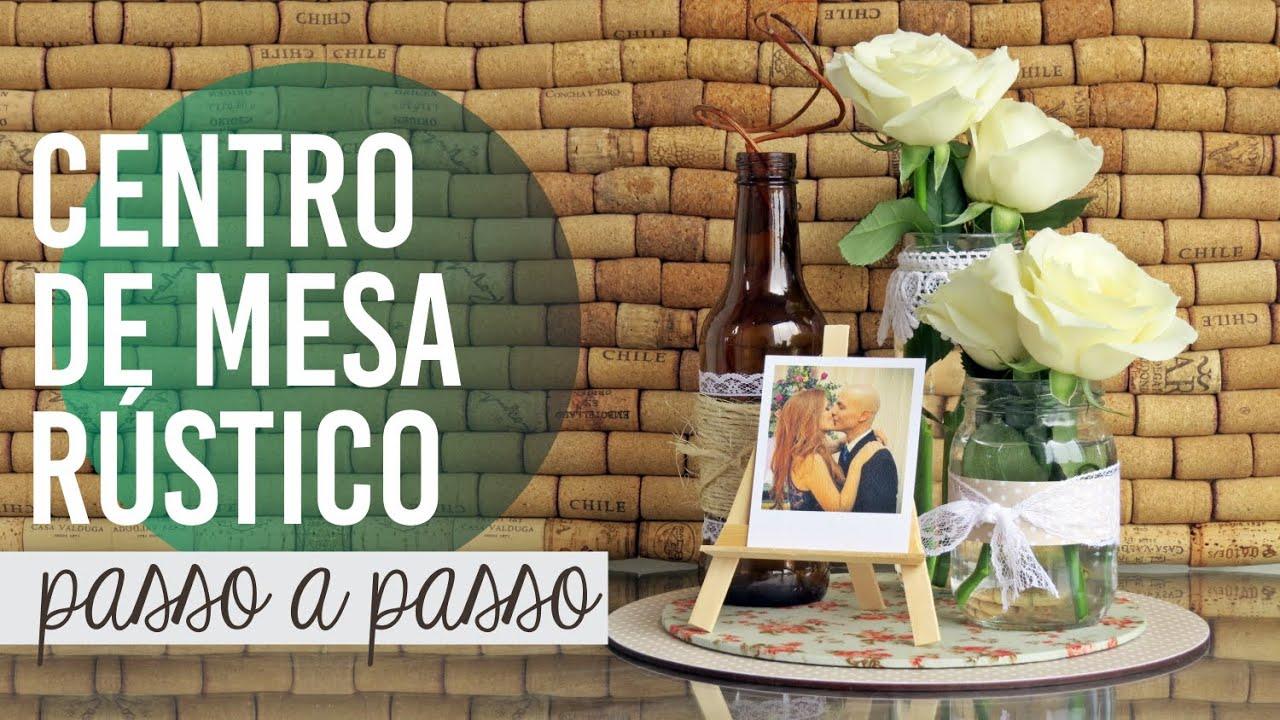 CENTRO DE MESA RÚSTICO garrafas e mason jars   #927A39 1500x844