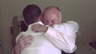 Dad Surprised By Relatives On 60th Birthday