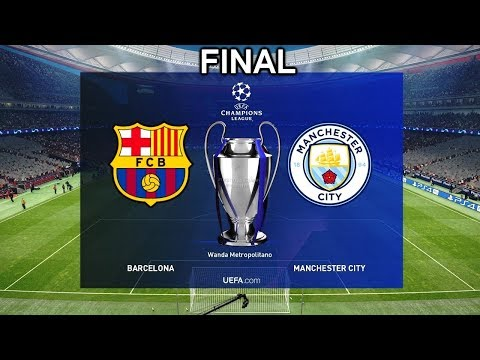 UEFA Champions League Final 2019 -  Barcelona vs Manchester City