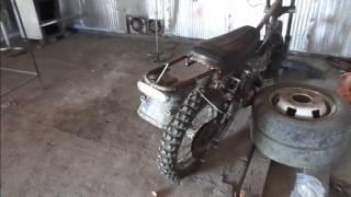 как самому сделать кроссовый мотоцикл//as to craft cross bike//часть 6