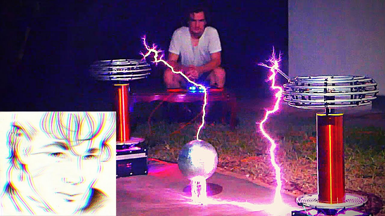 a-ha - TAKE ON ME but with TESLA COILS