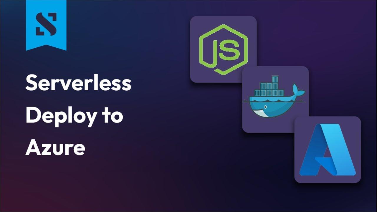 Deploy a NodeJS App to Azure