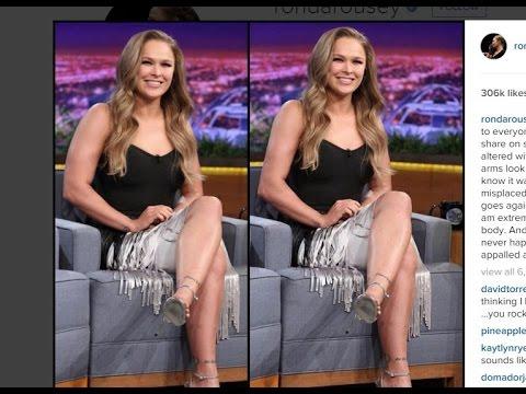 Ronda Rousey Photoshop !!!