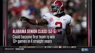 01/08/2018 SECN segment - 2017 Alabama Senior Class (HD)