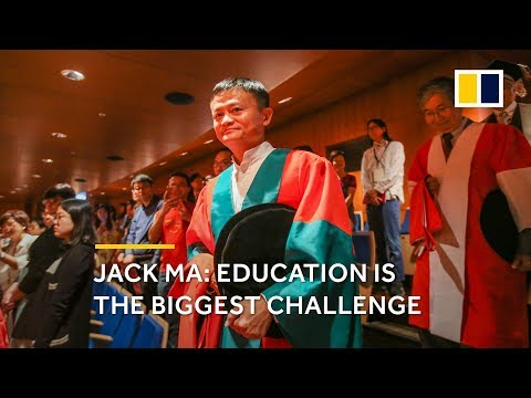 Jack Ma about the future of education.