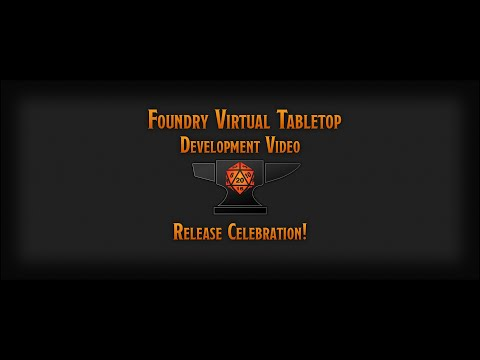 Foundry Virtual Tabletop