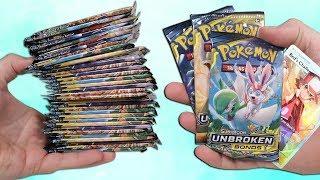 Opening a Pokemon Unbroken Bonds Booster Box! (36 Booster Packs) **NEW**