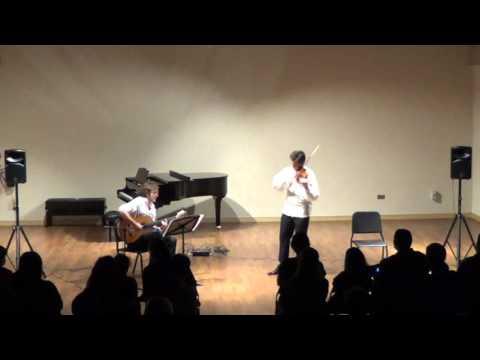 Czardas by Vittorio Monti, fastest Violin and Guitar version! en streaming