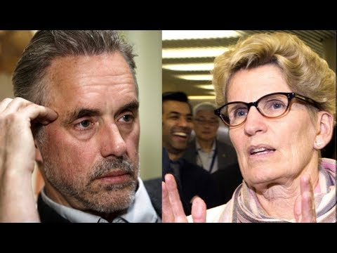 "Jordan Peterson Rips Wynne ""Most Dangerous Woman In Canada"""