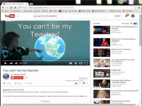 Edublogs: How to Embed a Video