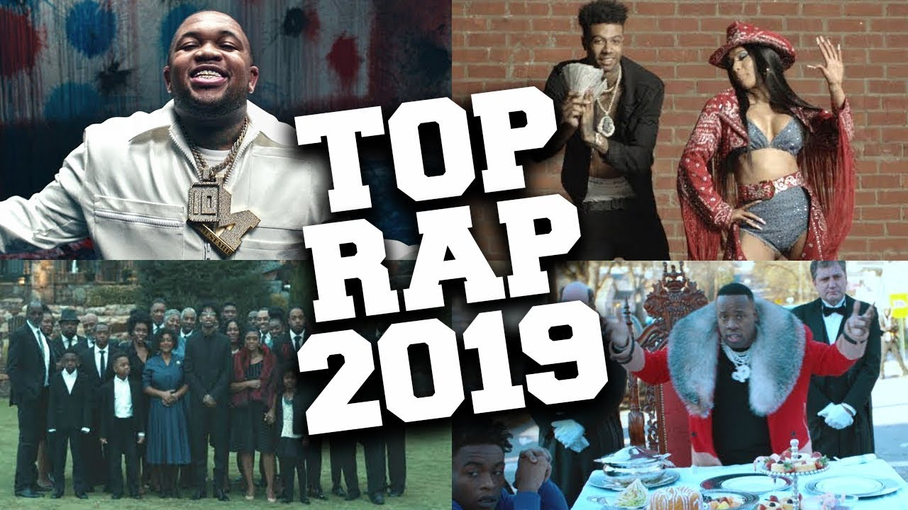 Top 100 Most Listened Rap Songs in March 2019