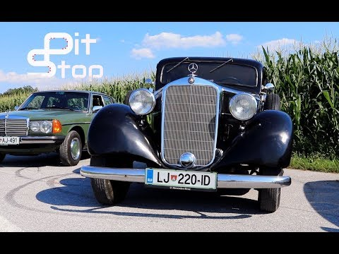 1937 Mercedes-Benz Typ 230 (W143) Review