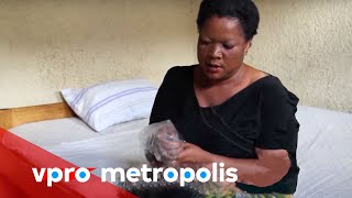 Plastic bag as a condom in Congo