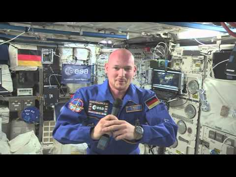 Space Station Crew Member Discusses Life In Space With Germa