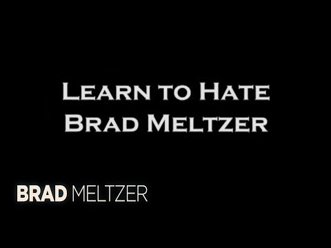 Everybody hates Brad Meltzer