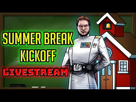 Summer Break Livestream Fun in Arena! 3 v 3 Chewie At the End! | Star Wars: Galaxy of Heroes