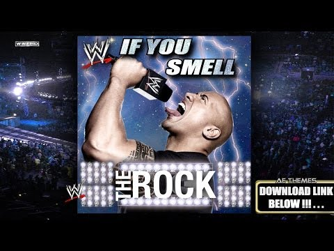 """WWE: """"If You Smell"""" (The Rock) Theme Song + AE (Arena Effect)"""
