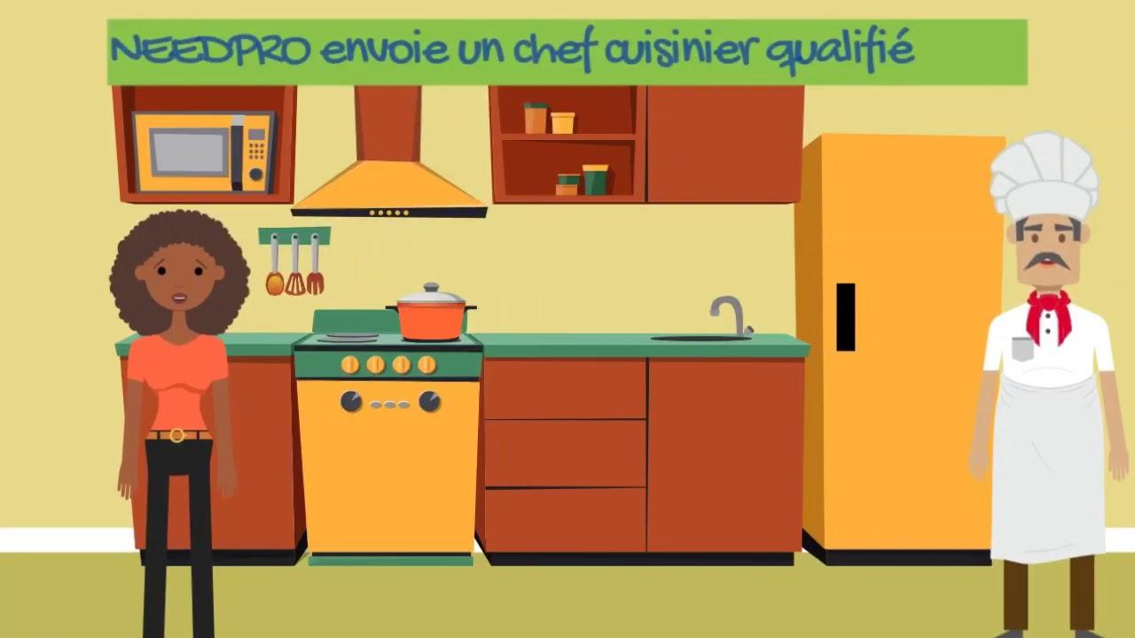Vous recherchez un cuisinier à domicile ?