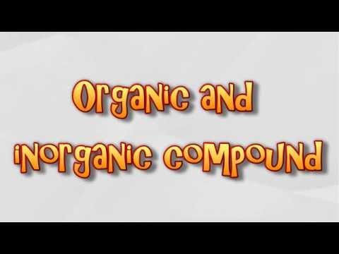 Organic and inorganic compound
