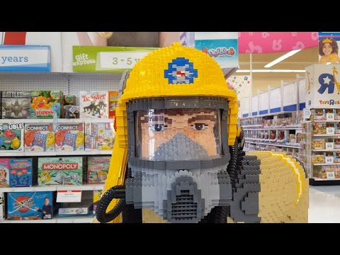 LEGO Life-Size Firefighter ☆ Toys