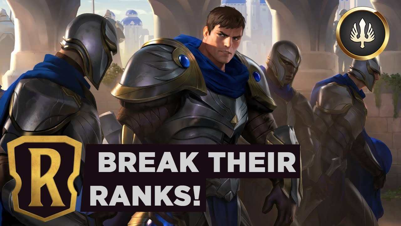 GAREN's Demacian Resolve   Legends of Runeterra Deck
