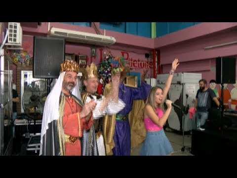 Los Reyes Magos pasaron por el Comedor Los Piletones de Margarita Barrientos