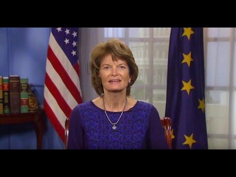 U.S. Senator Lisa Murkowski addresses 'Securing Critical Resources' conference