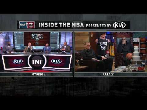 Inside the NBA  Ernie Johnson Visits Area 21   February 2, 2017   2016 17 NBA Season