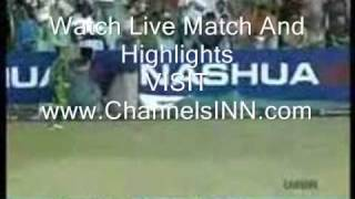 Abdur Razaq Vs South Africa In Dubai 2nd-ODI-Live